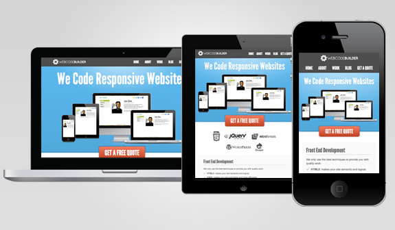 Mobile Devices with Responsive Websites